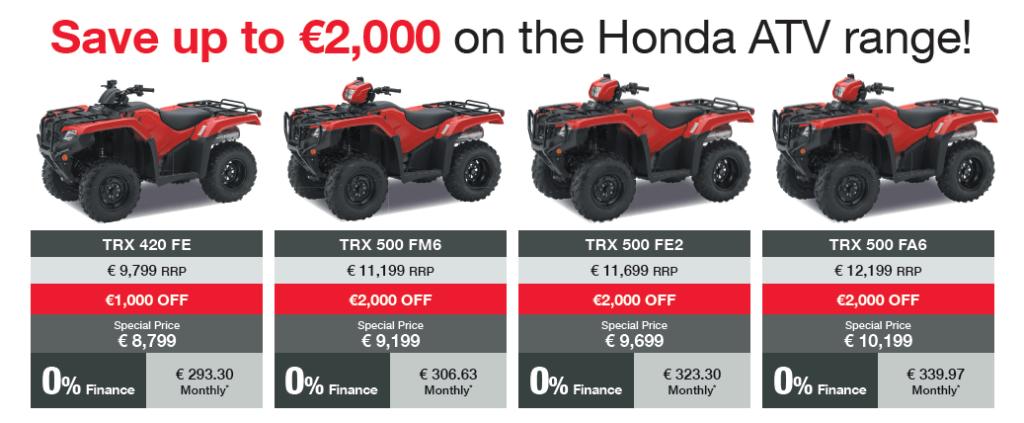 ATV Spring Special Offer